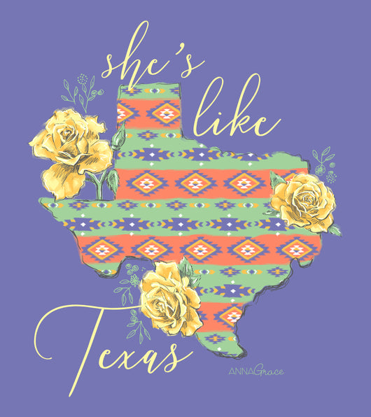 She's Like Texas - Short Sleeve