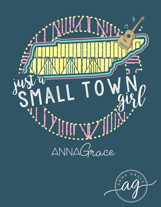 Small Town Girl - Tennessee - Short Sleeve