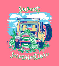 Sweet Summertime - Short Sleeve