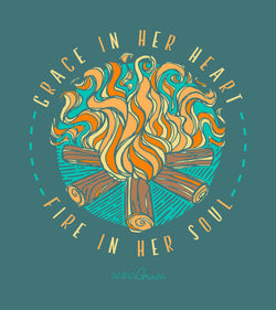 Fire In Her Soul - Short Sleeve