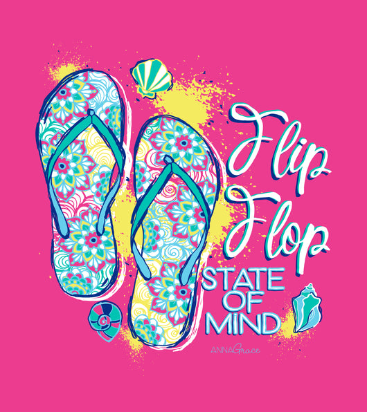 Flip Flop State of Mind - Short Sleeve