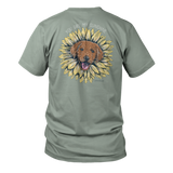 Flower Pup - Short Sleeve