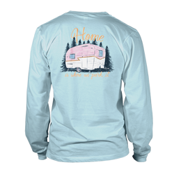Home Camper- Long Sleeve- Chambray