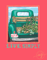 Live Simply - Short Sleeve