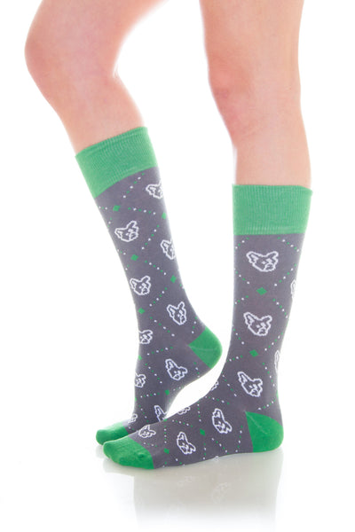 Tic Tac TOE Argyle Socks