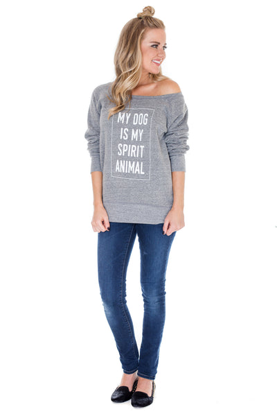 Black Spirit Animal Sweatshirt