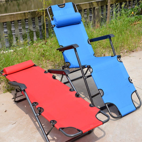 Outdoor furniture 153cm/178cm deck chair longer leisure folding beach chair stool sling recliner camping lounge chairs bed
