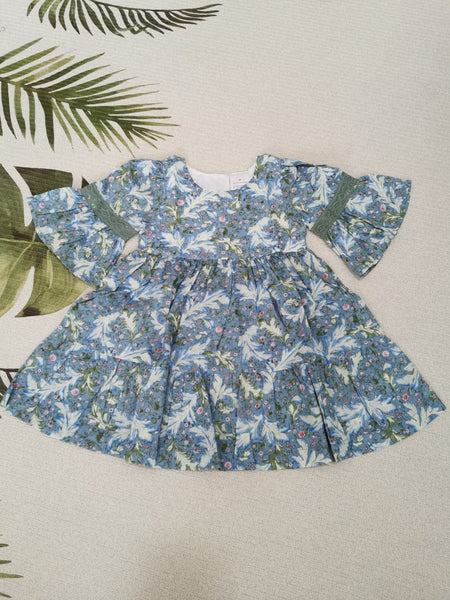 Baby Doll Dress (Blue)