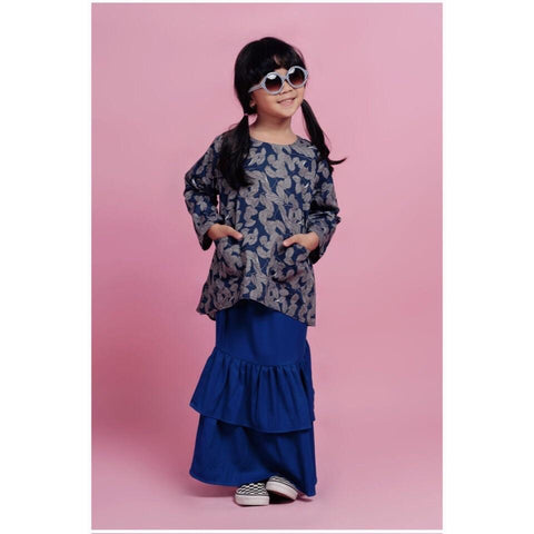 Heliconia Top (Blue)