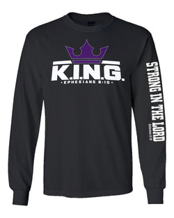 K.I.N.G. Classic Long Sleeve Tee (multiple colors)