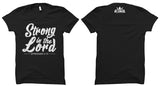 Strong In The Lord Tee (Black)
