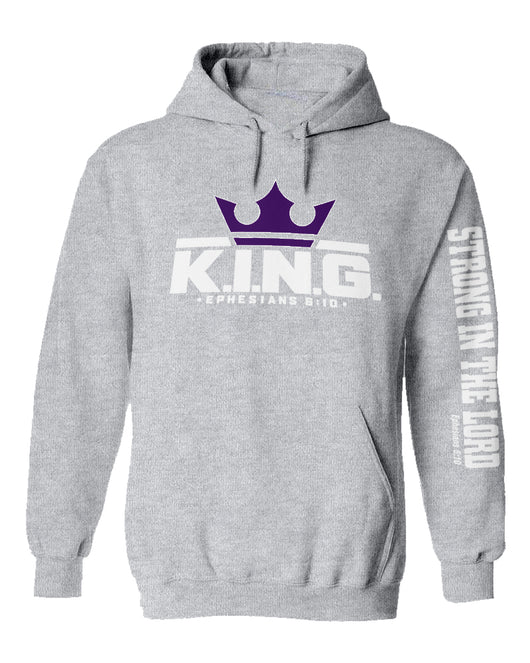 K.I.N.G. Movement Classic Hoodie (Grey)