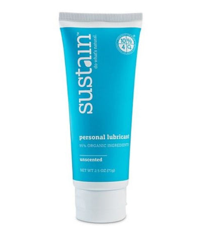 Sustain Unscented Personal Lubricant.