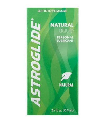 Astroglide Natural, All Natural Personal Lubricant.