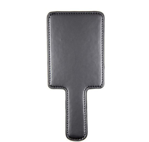 Flat Black Leather Paddle