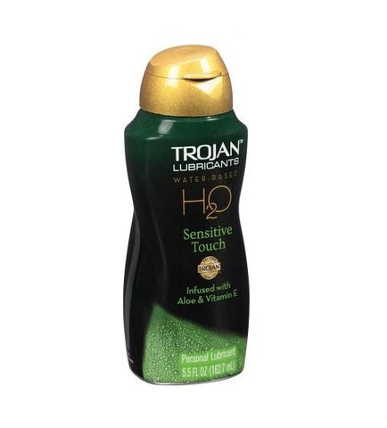 Trojan(tm) H20 Sensitive Touch Water-Based Personal Lubricant, 5.5 fl oz.