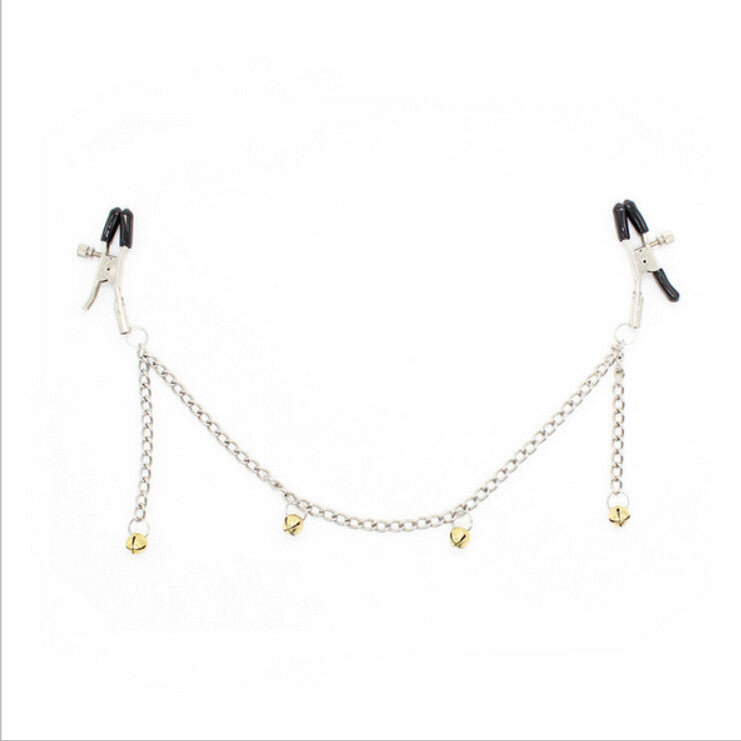 Gold Colored Bell Nipple Clips.