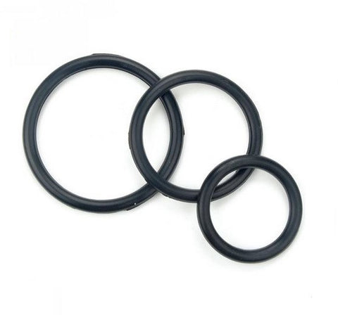 Triple Stamina Cock Ring Set