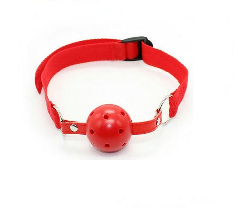 Sexy Open Mouth Gag Ball Restraint