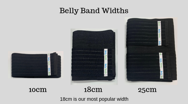 Belly Band Sizes