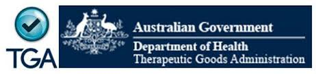 Approved by the Therapeutic Goods Australia