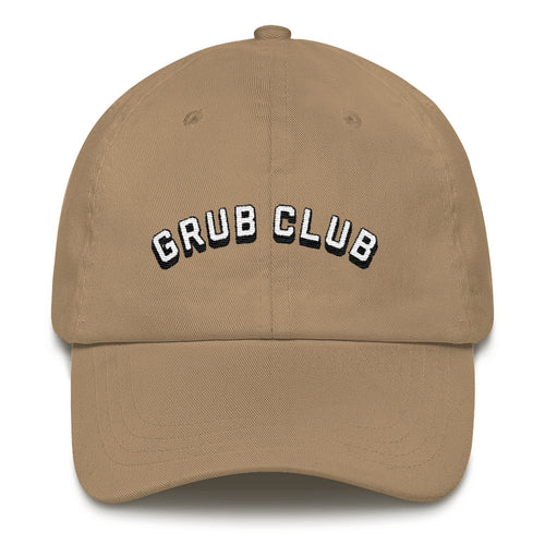 GRUB CLUB Dad Hat