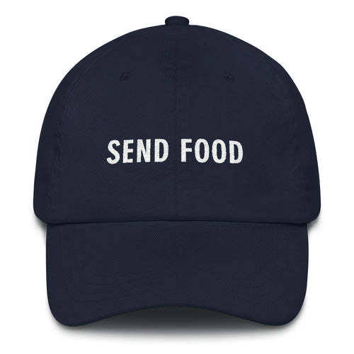 SEND FOOD Dad Hat