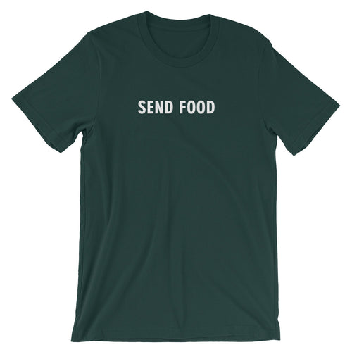 SEND FOOD Short Sleeve Tee