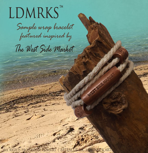 LDMRKS™ inspiration West Side Market Wrap Bracelet