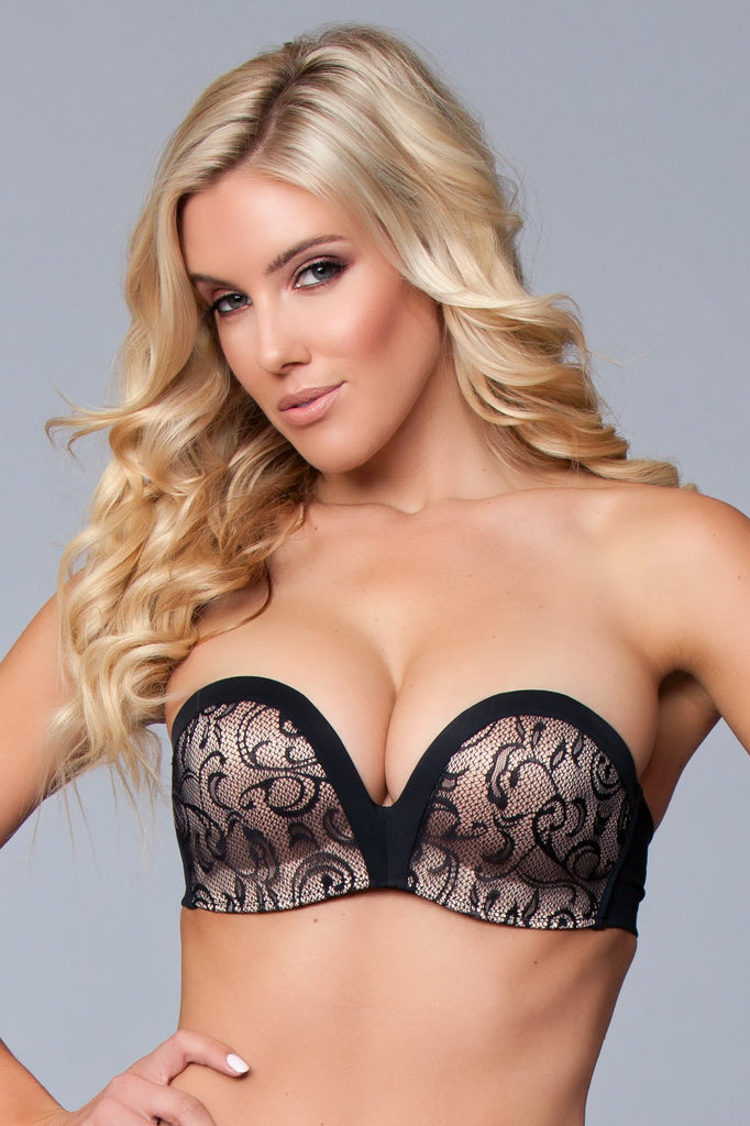 BWXB101BK Miracle Push Up Bra - Black