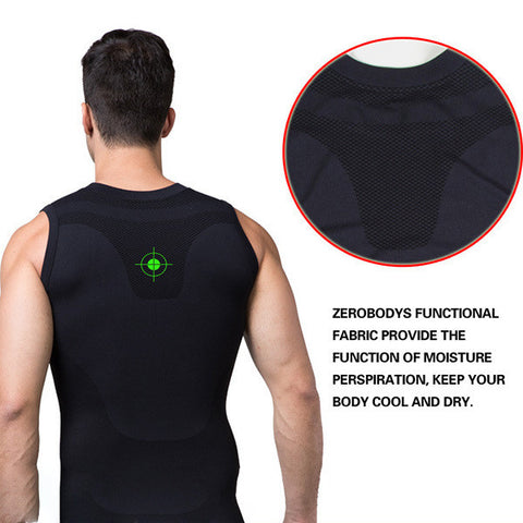 Mens Slimming Vest Body Control Shaper