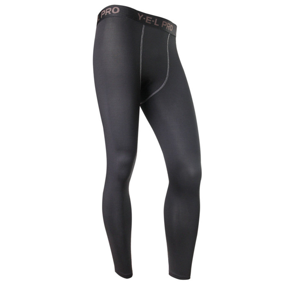 Mens Compression Pants Gym Men Fitness Sports Running Leggings