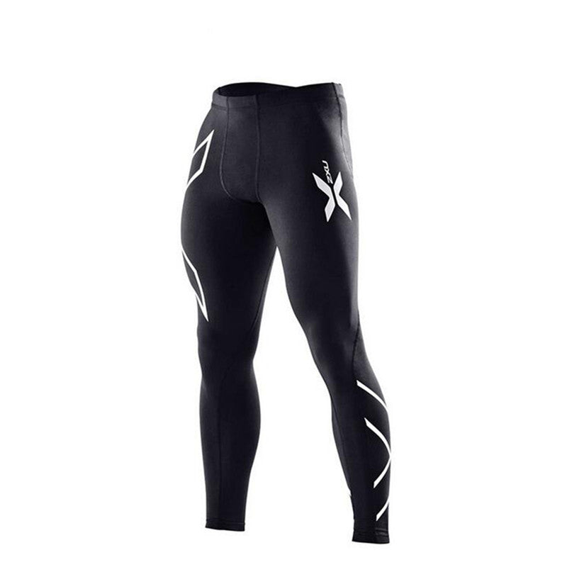 Men Compression Pants High Stretch Joggers