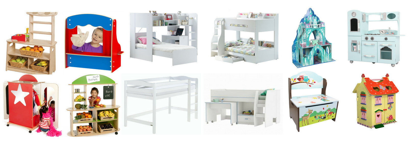 Wood Play kitchens