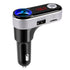 iSunnao Bluetooth Car Adapter FM Transmitter MP3 Lighter Charging