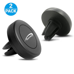 iSunnao CM-7903 Magnetic Phone Air Vent Car Mount - 2 Pack