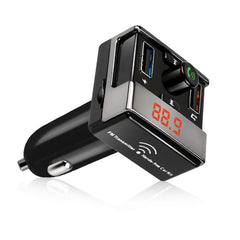 iSunnao FM Transmitter Bluetooth Wireless Radio Adapter Car Kit