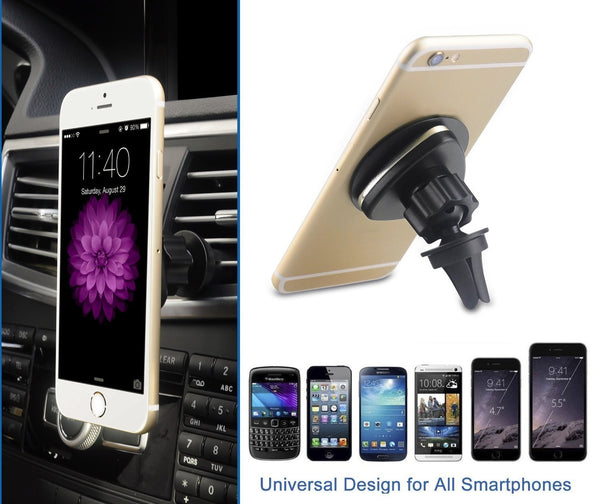 iSunnao Magnetic Car Mount 360° Rotation Air Vent Mount