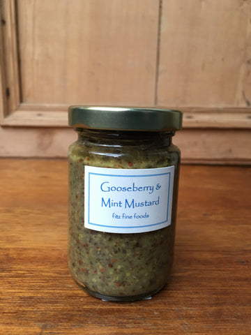 Gooseberry and Mint Mustard (100g)