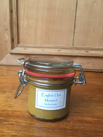 Kilner Jar of English Hot Mustard (100g)