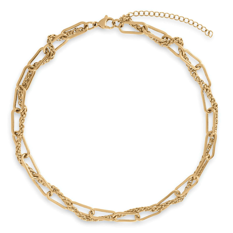 ELLIE VAIL - LOLA DOUBLE CHAIN NECKLACE
