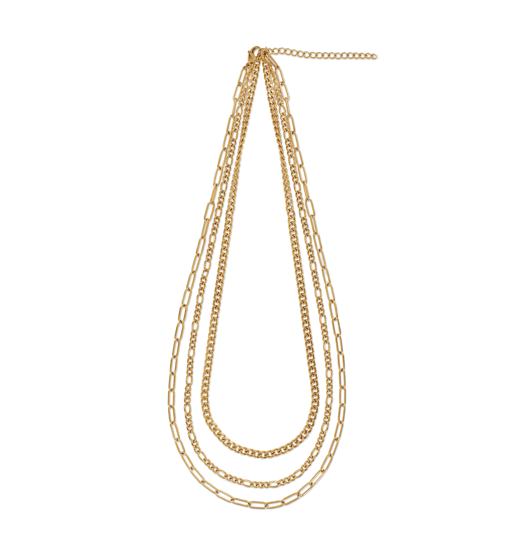 ELLIE VAIL - NOLA MULTI CHAIN NECKLACE