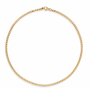 ELLIE VAIL - LARGO BOX CHAIN NECKLACE