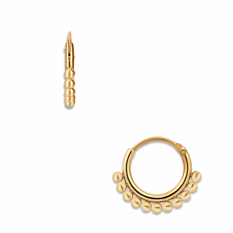 ELLIE VAIL - AUDREY MINI HOOP EARRING