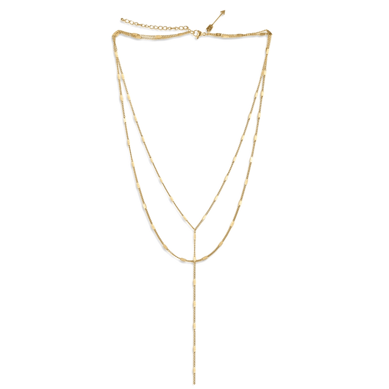 ELLIE VAIL - CAMILLA LARIAT CHAIN NECKLACE