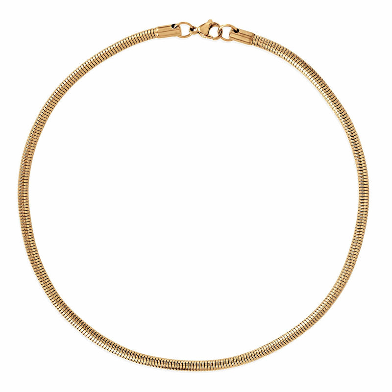Ellie Vail - Candice Round Snake Chain Necklace