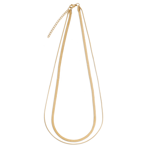 Ellie Vail - Cassia Double Chain Necklace