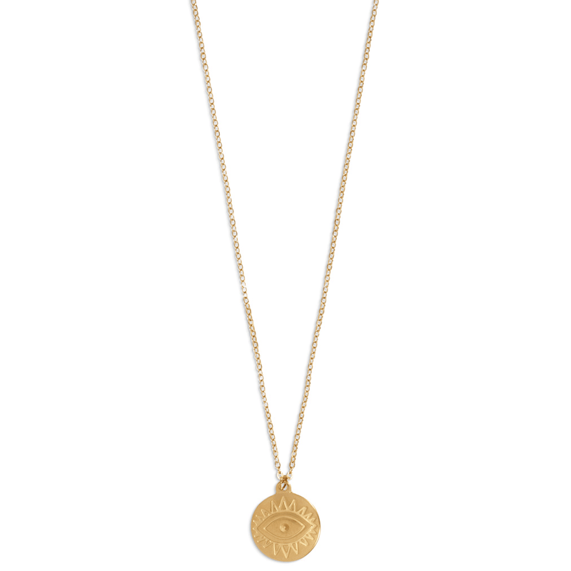 Ellie Vail - Helena Evil Eye Pendant Necklace