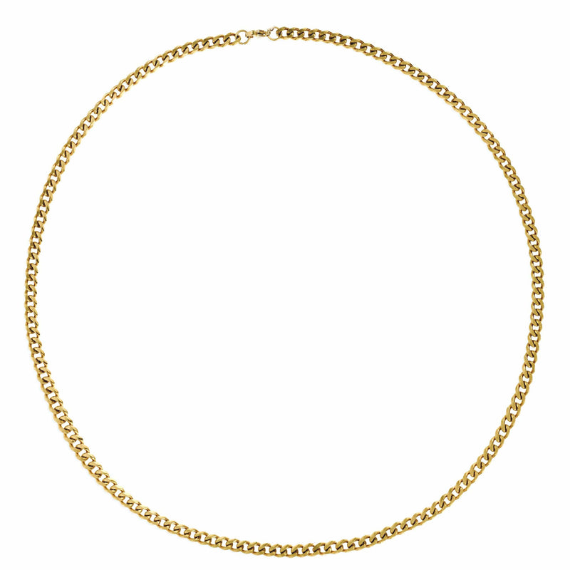 ELLIE VAIL - HUDSON CUBAN LINK CHAIN NECKLACE
