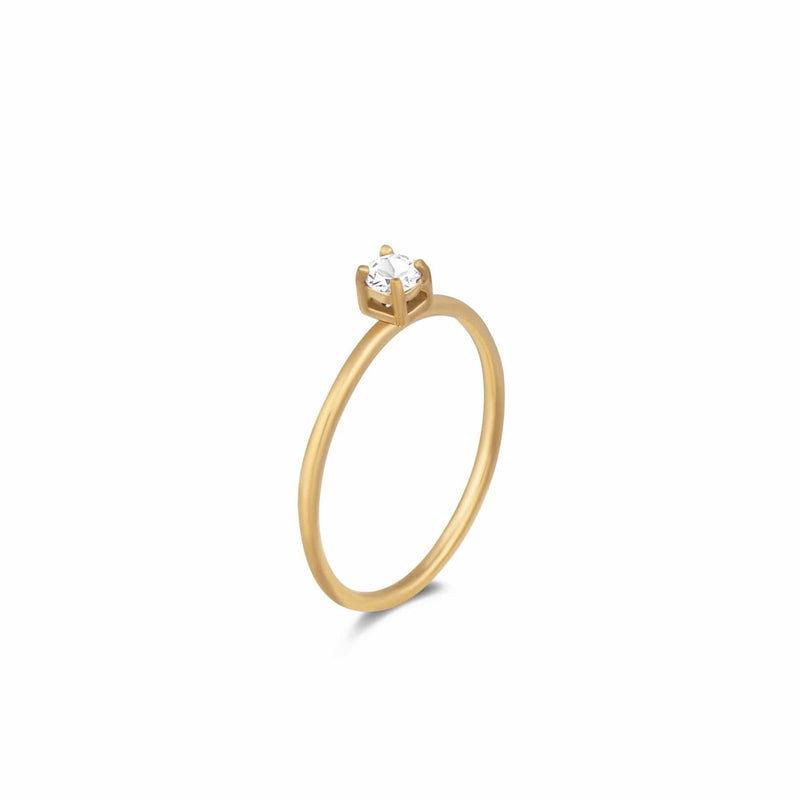 ELLIE VAIL - ILYSSA SOLITARE RING